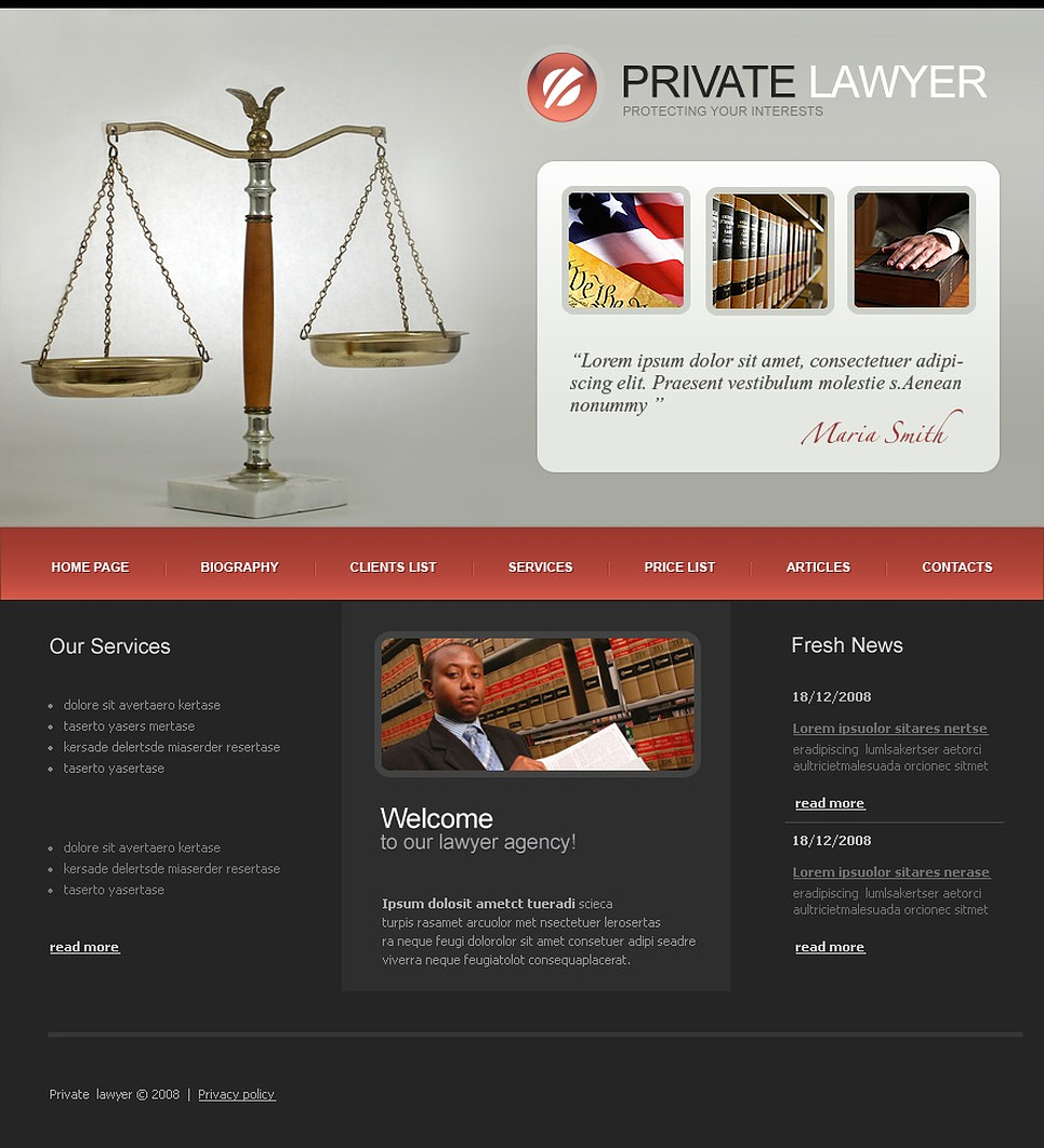 Template Monster Marketplace for Website Templates