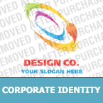 Corporate identity template #20292 by Logann