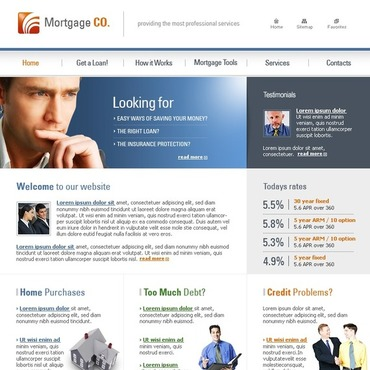 mortgage brokers free website templates for free download about 1