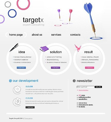 Website Template #20377