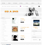 Template #20402  Keywords: cd & dvd store shop shopping cart disk sound media case holder cd player recorder music hit sound track label movie song film popular specials film folk easy listening rock pop classical blu-ray account jazz blues games new releases products choice order