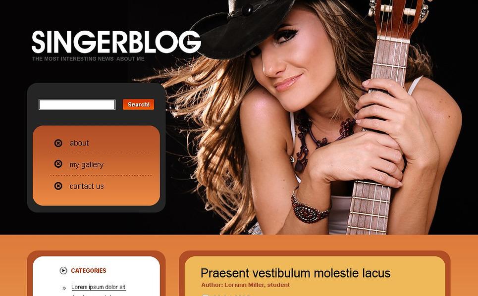 Singer WordPress Theme New Screenshots BIG