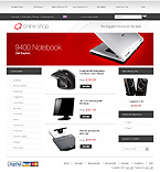 Template #20441  Keywords: electronics store online shop delivery computer office staff printer notebook laptop shipment desktop portable scanner camera monitor cable system technology processor installation hardware input device memory server accessory wireless pc connection