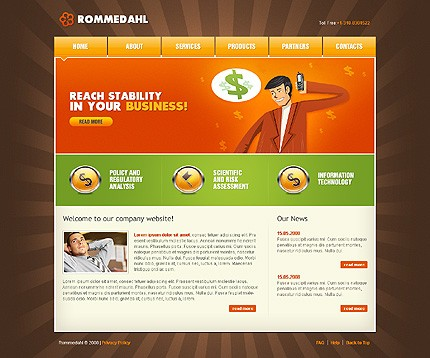 Website Template #20484
