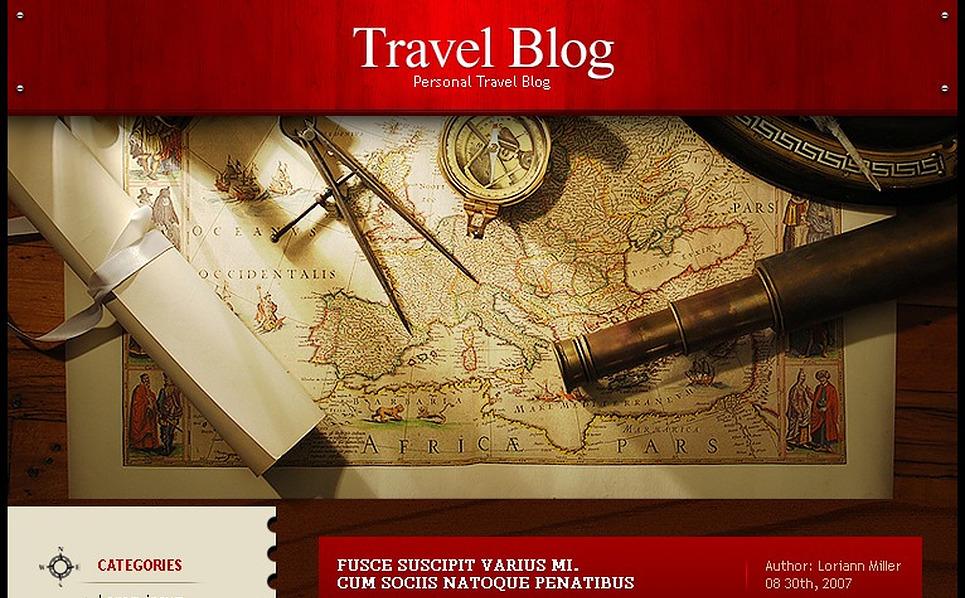 Travel WordPress Theme New Screenshots BIG