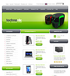 Template #20588  Keywords: technonix hardware online  shop store computer systems windows products linux os/2 it servers disk space processor technology cables cable