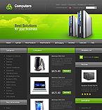 Template #20589  Keywords: computers store hardware online  shop computer systems windows products linux os/2 it servers disk space processor technology cables cable