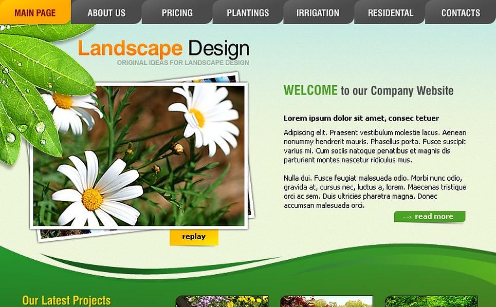 Landscape design swish template 20610 for Garden design questions