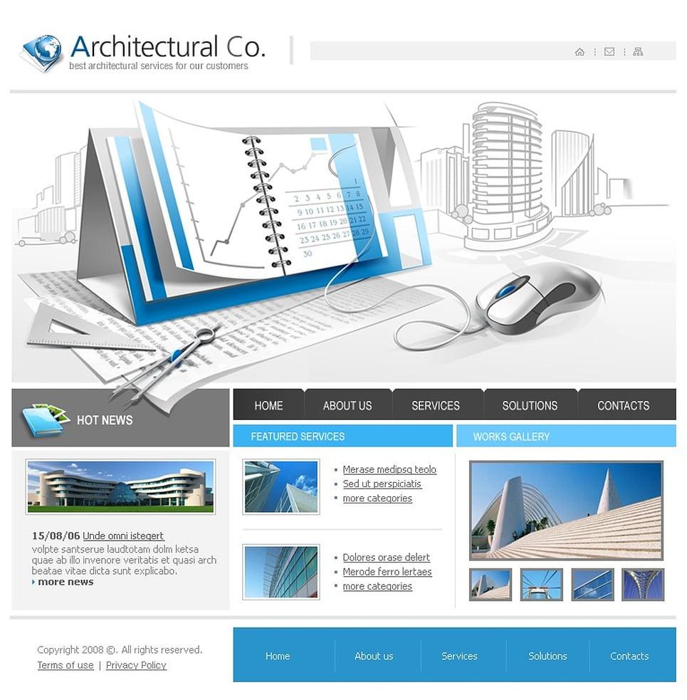 Architecture Website Template 20692
