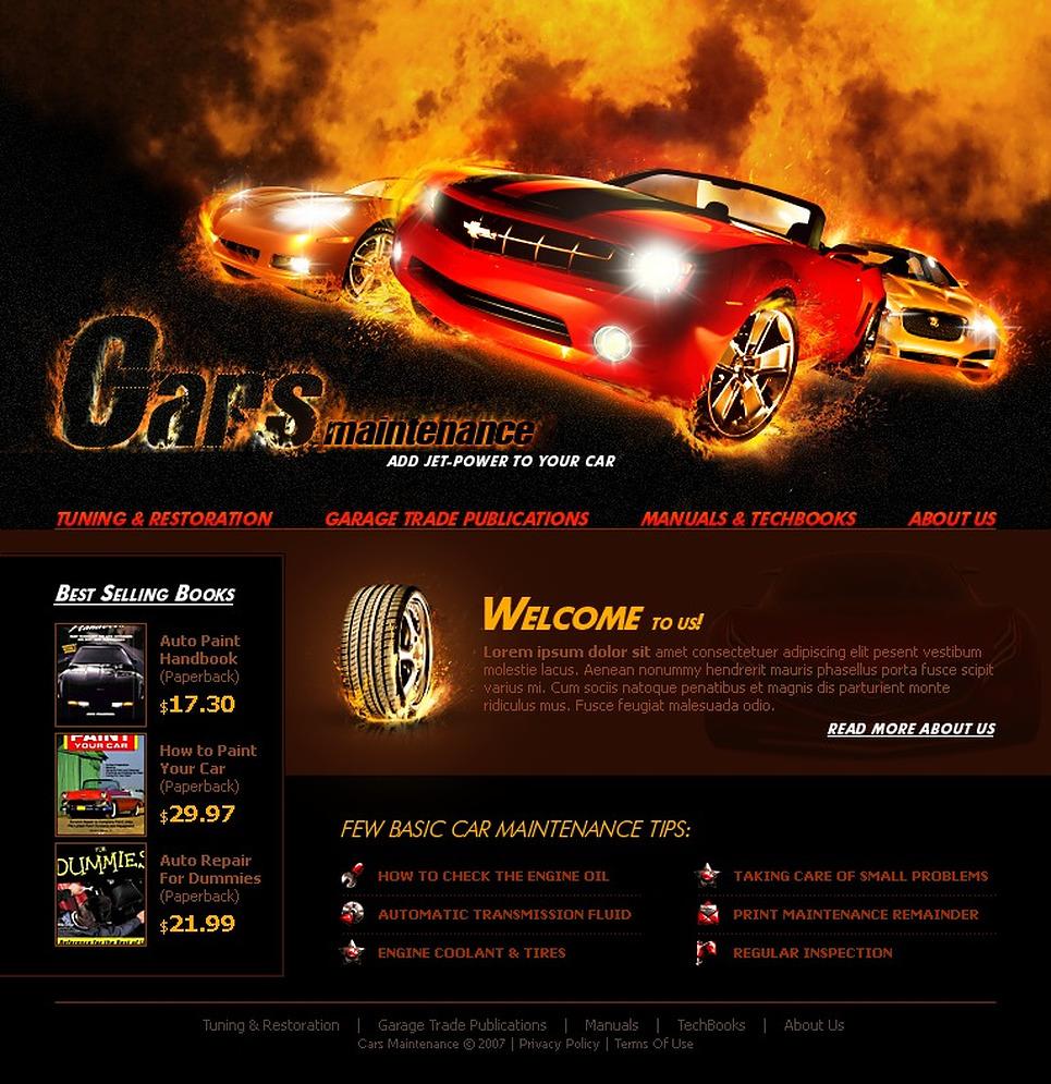 Car Flash Template New Screenshots BIG