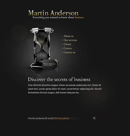Website Template #20831