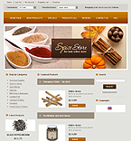 Template #20844  Keywords: spice store spicy flavour shop cook pepper salt powder blend cinnamon dried herbs