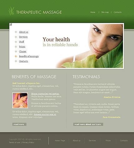 Website Template #20869
