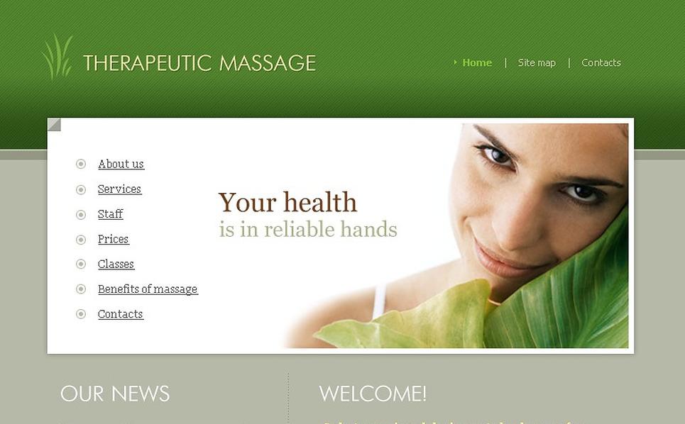 Massage Salon SWiSH Template New Screenshots BIG
