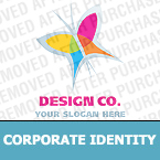 Corporate identity template #20929 by Logann