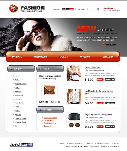 Website Template #20940