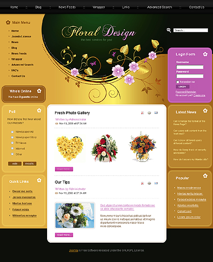 Website Template #21080