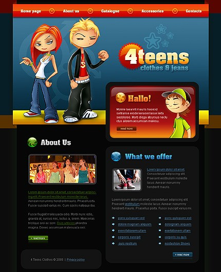 Website Template #21083