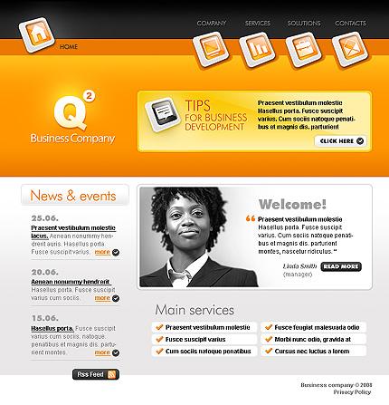 Website template 21096
