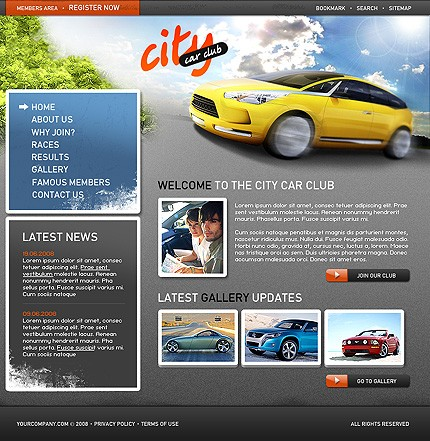 Website Template #21169