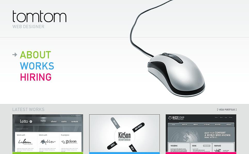 Web Design Flash Template New Screenshots BIG