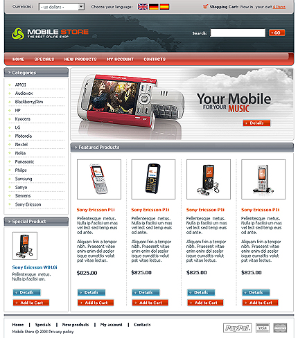 Website Template #21424