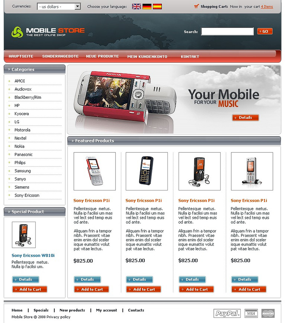 Mobile Store CRE Loaded Template New Screenshots BIG
