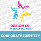 Corporate identity template #21543 by Logann