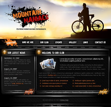 Website Template #21617