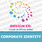 Corporate identity template #21655 by Logann