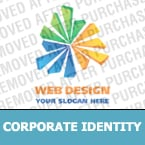 Corporate identity template #21657 by Logann