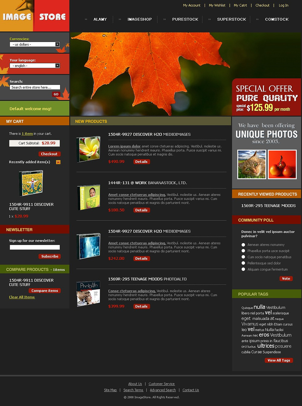 Ultimate Art Store Magento Theme