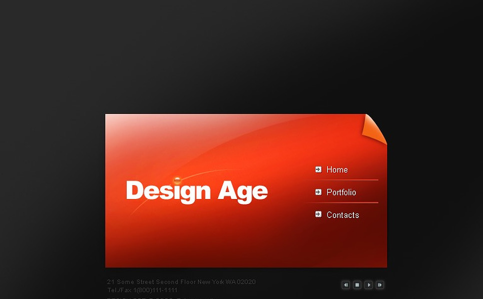 Design Studio SWiSH Template New Screenshots BIG