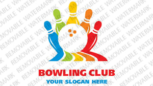 Bowling Logo Template vlogo