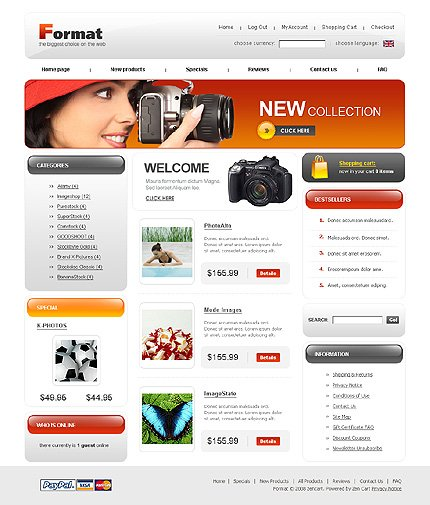 Website Template #21951