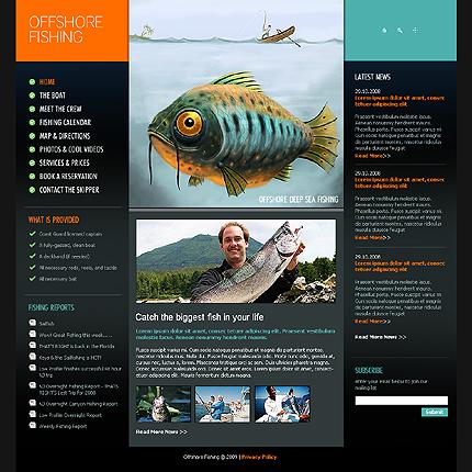 веб сайты для рыбалки