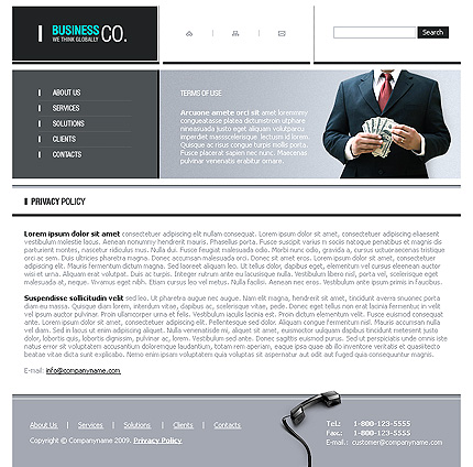 Website Template #22459