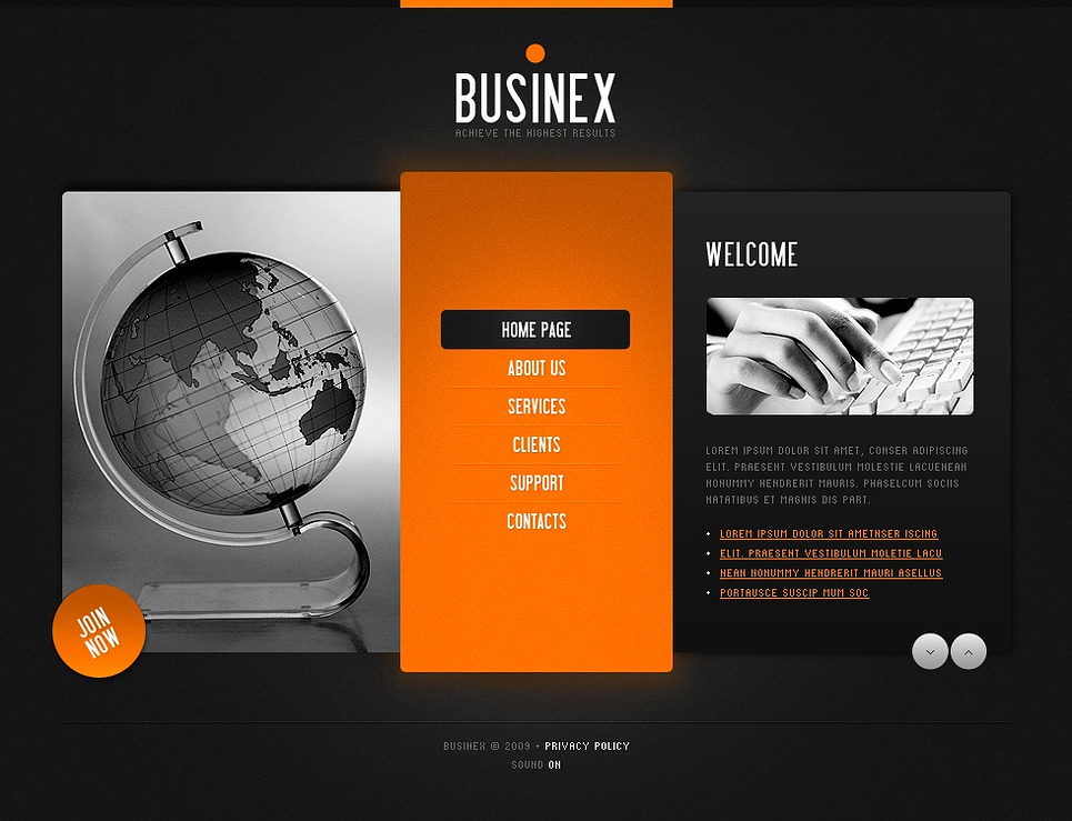 business flash template 22505