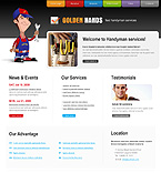 Website template #22545 by Delta