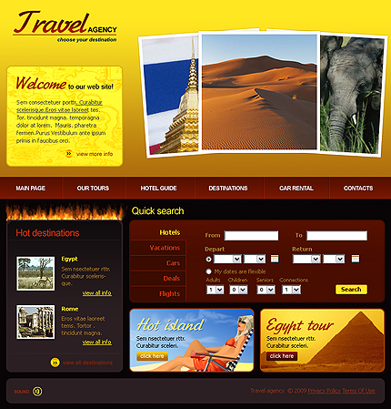 Website Template #22709