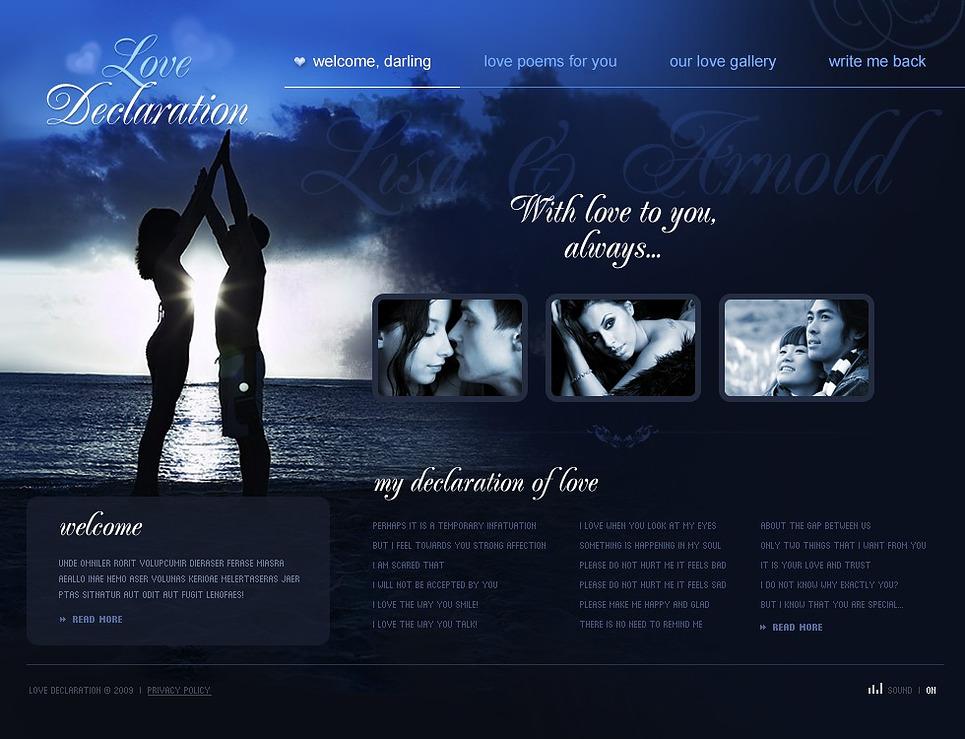 St. Valentine Flash Template New Screenshots BIG