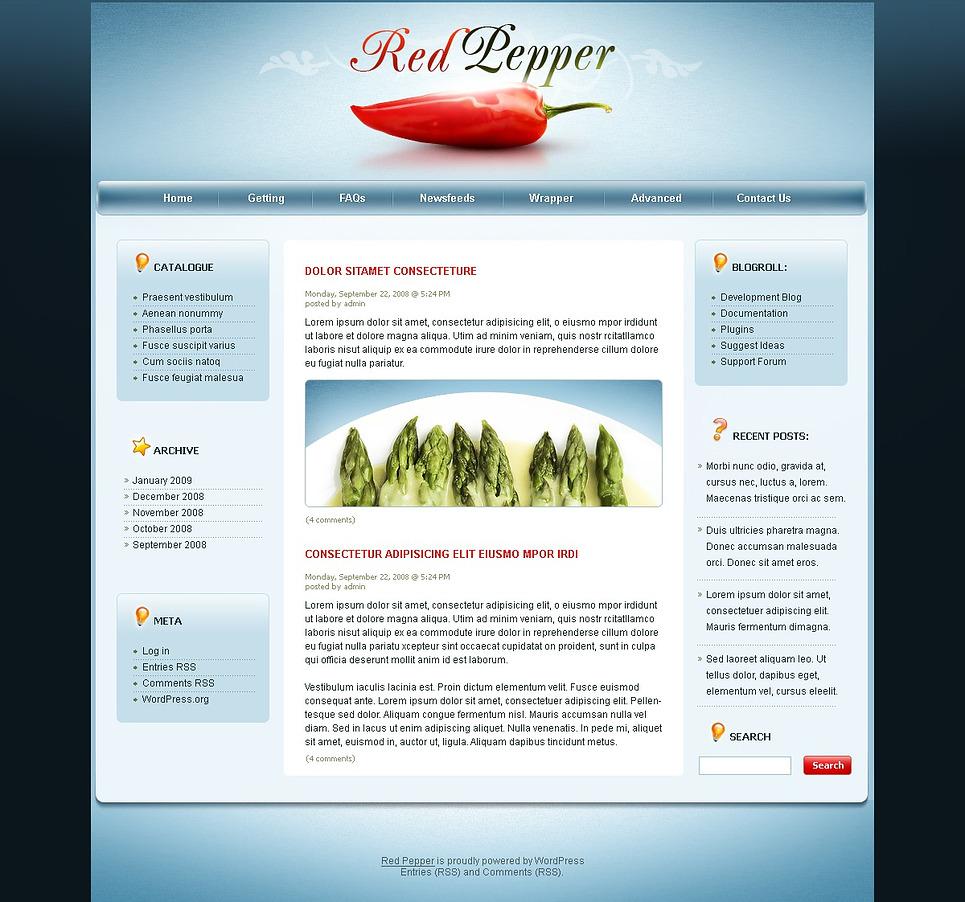 Spice Shop WordPress Theme New Screenshots BIG