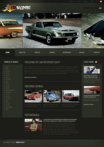 Website Template #23163