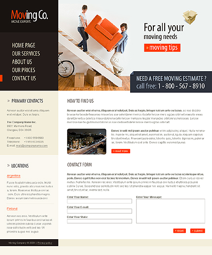 Website Template #23222