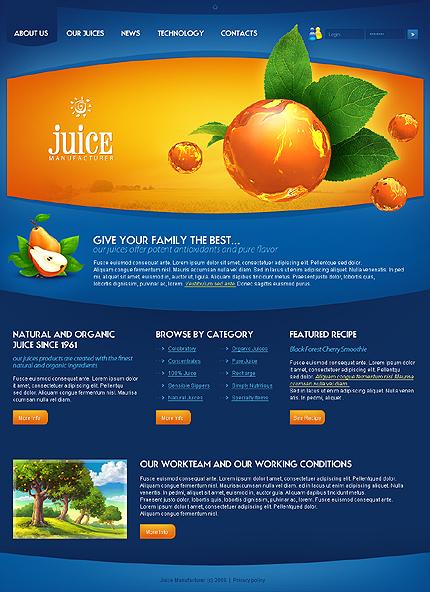 Food & Drink Web Templates.