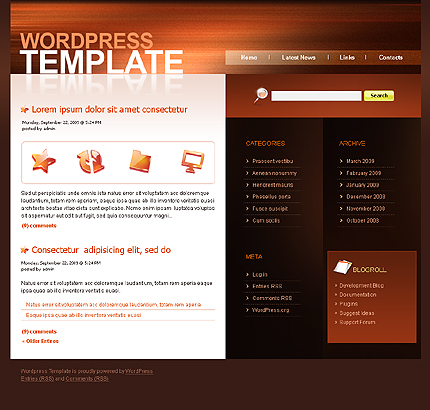 Website Template #23470