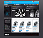 Template #23557  Keywords: wheels tyres on-line store  car automibile engine valves spares parts filter gauges styling shop shopping cart