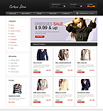osCommerce template #23698 by Nessy
