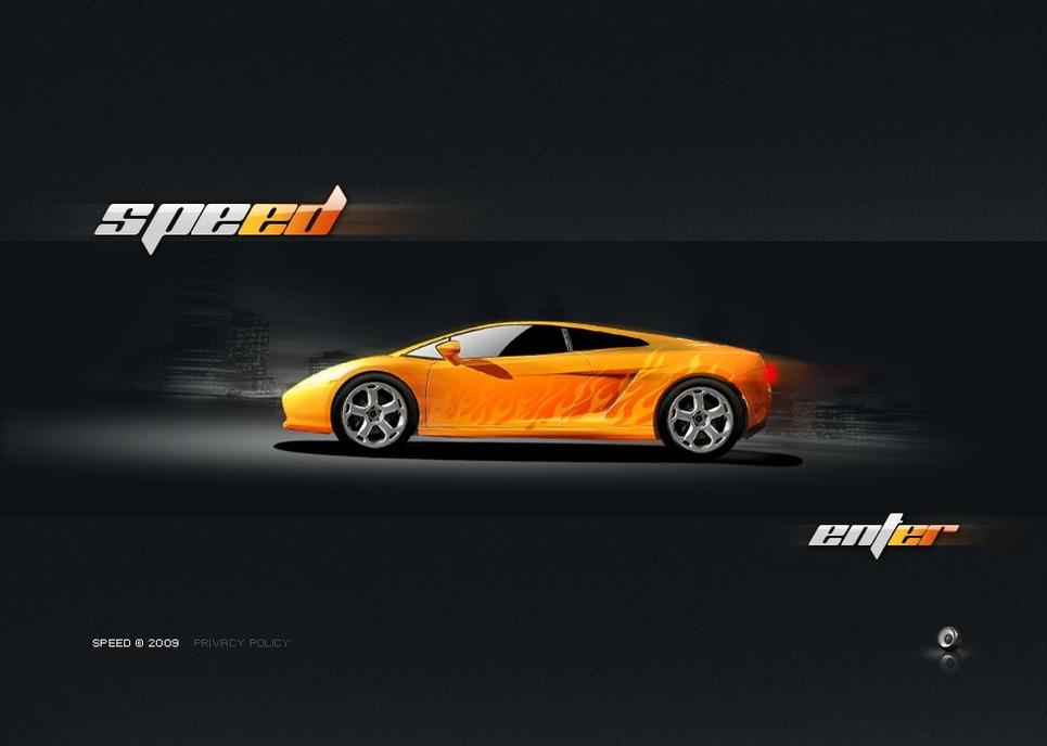 Car Racing Flash Template New Screenshots BIG