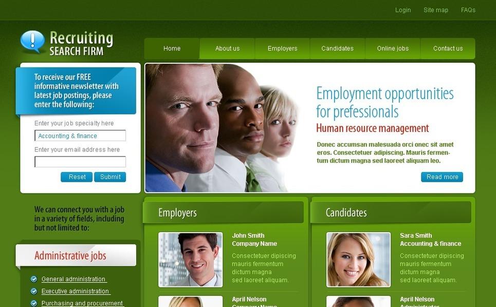 Job Portal Website Template New Screenshots BIG